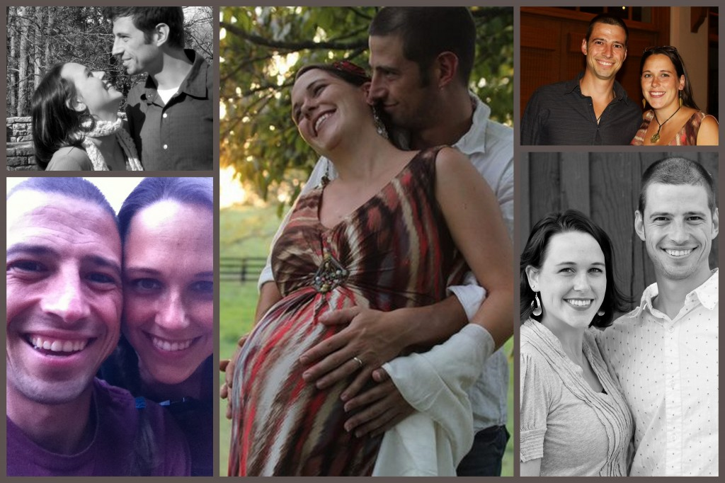 Three babies and a full decade later, and we're more in love than ever.