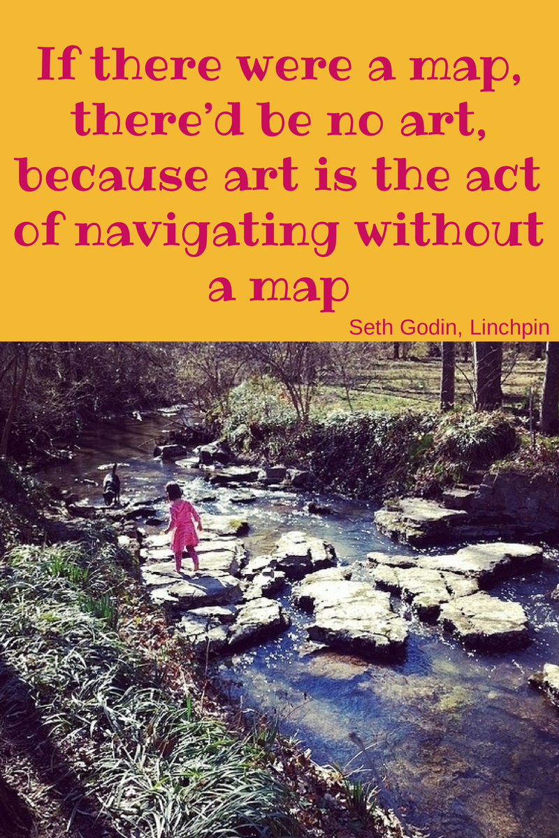 Art is no map